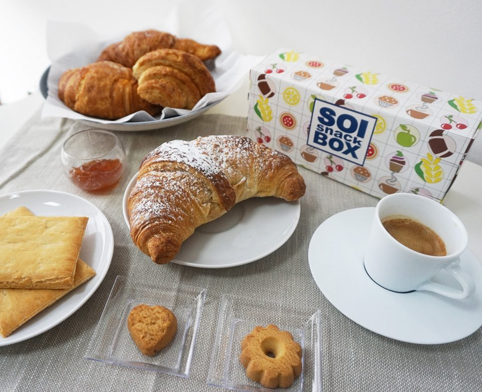 Breakfast Box, Colazione, group soi