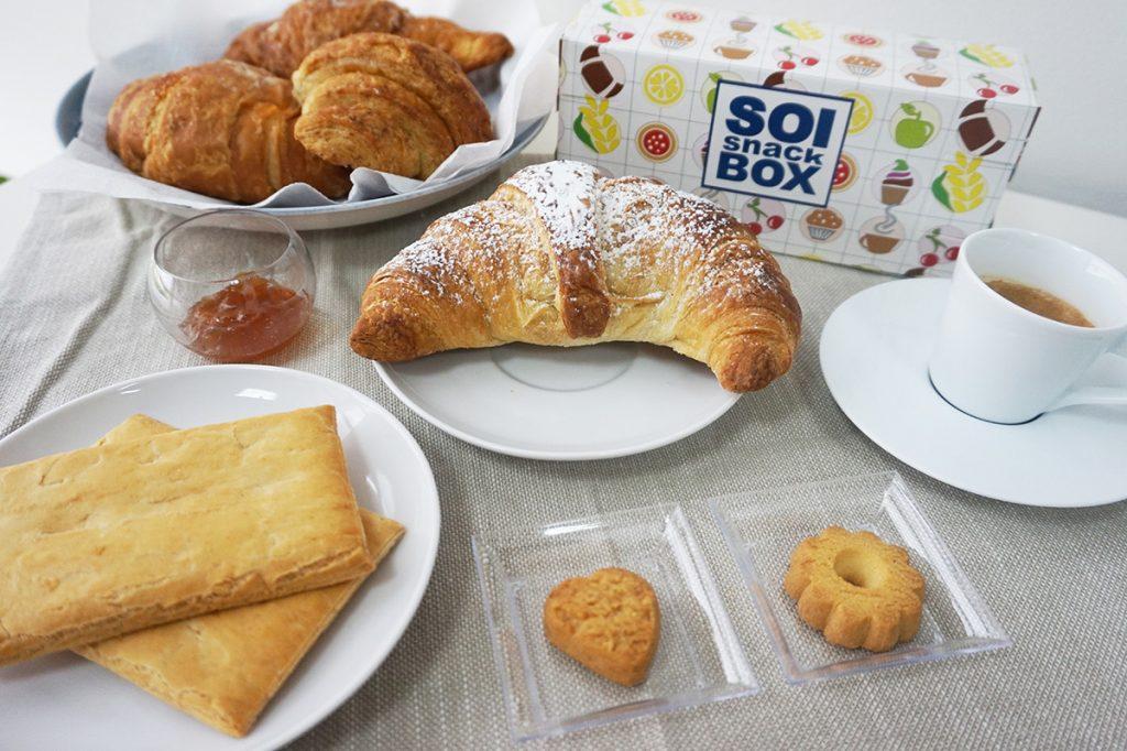 Breakfast Box, Colazione