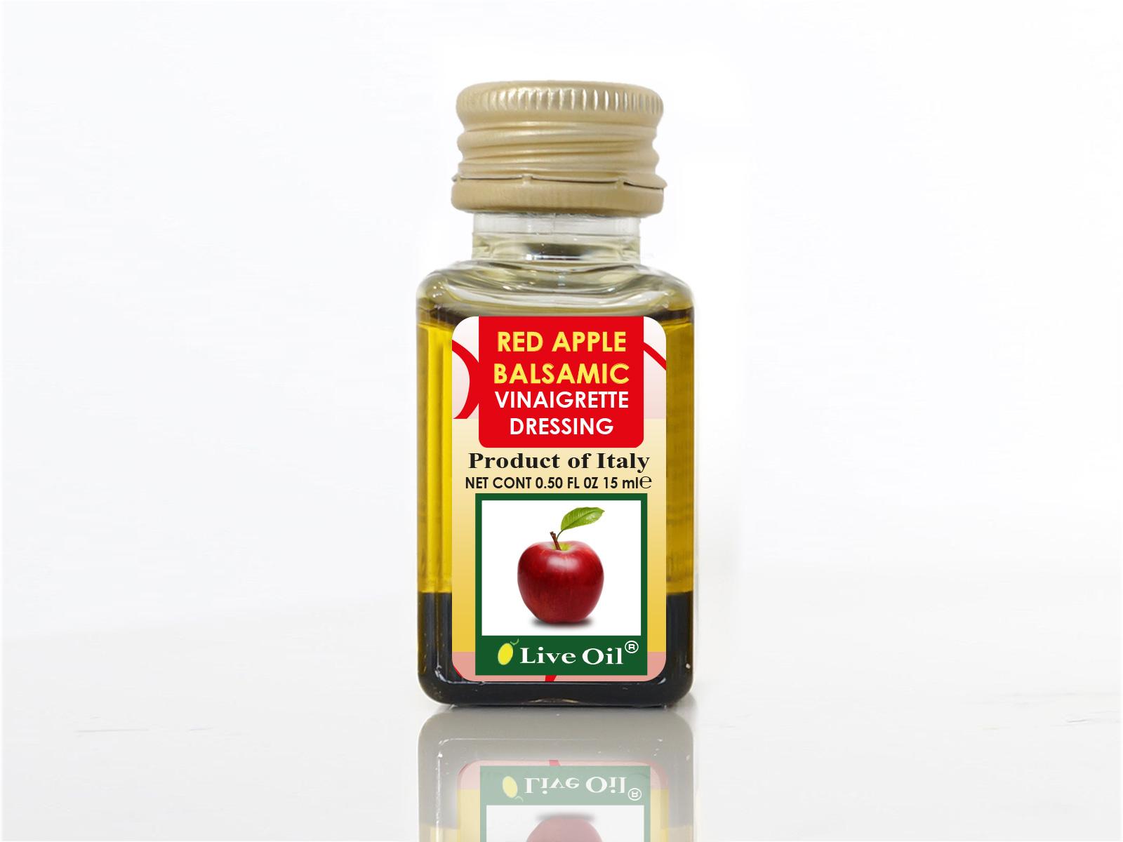 Live Oil Red Apple Balsamic Vinaigrette dressing