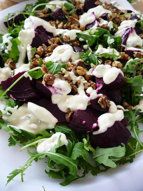rocket-beetroot-salad
